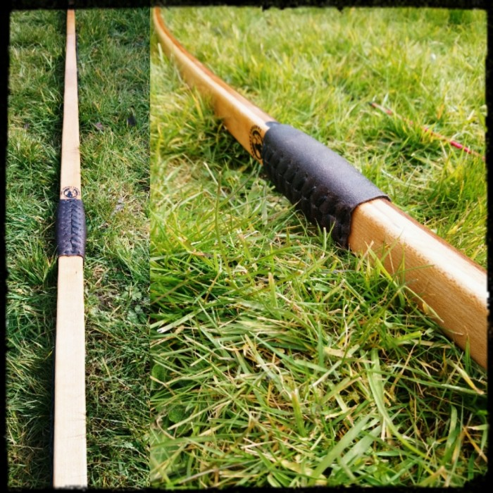 "40lbs @ 28"" thriple laminate longbow (sold)"